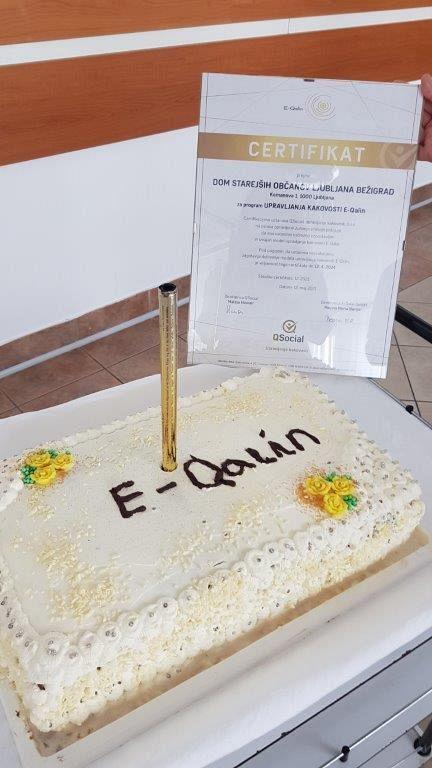 Certifikat kakovosti E-QALIN