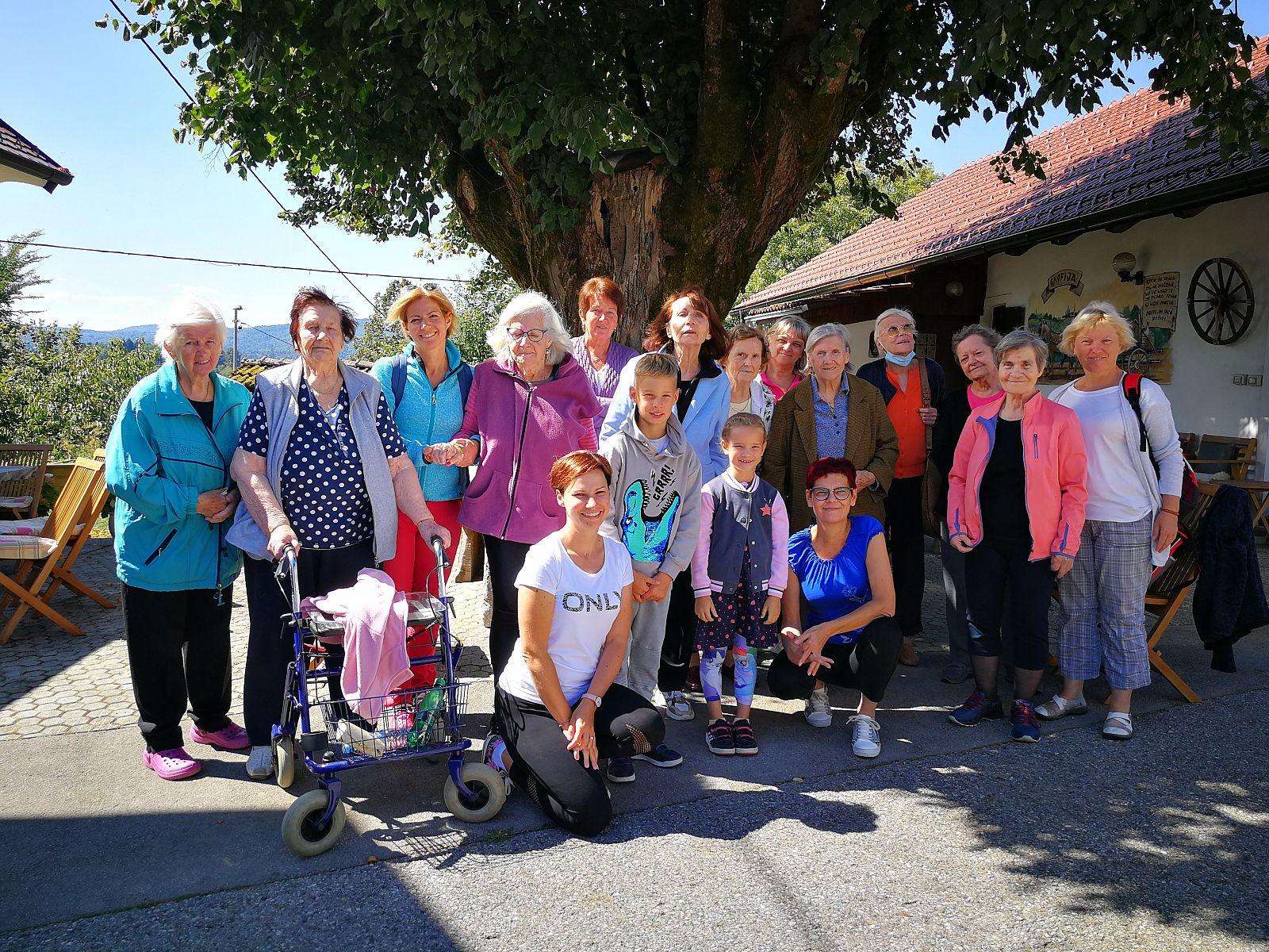 Izlet – Medgeneracijsko druženje stanovalcev z demenco in njihovih svojcev
